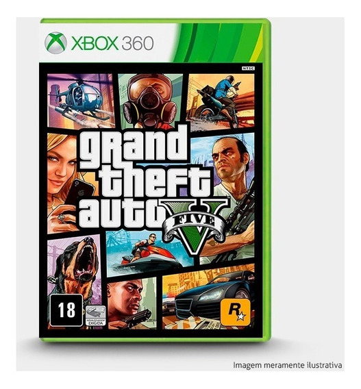 Gta Grand Theft Auto 5 Original P/ Xbox 360
