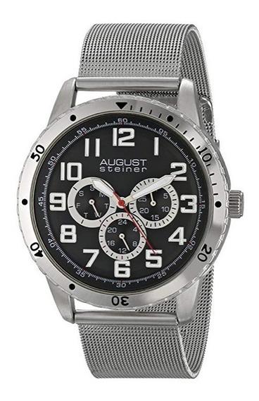 Reloj August Steiner Modelo As8115ssb