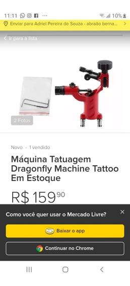 Maquina Rotatória Para Tattoar