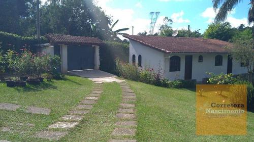 Chácara Com 3 Dormitórios À Venda, 2720 M² Por R$ 550.000,00 - Jardim Santa Fé (zona Sul) - São Paulo/sp - Ch0060
