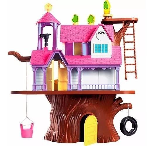 Casa Na Árvore Casinha Bonecas Promoção 3901 Xplast