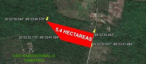 Terreno 5.4 Hectareas Rodeado De Haciendas, Para Proyecto Turistico, De Agricultura O Habitacional.
