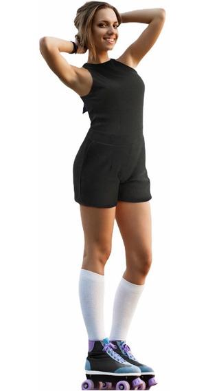 Vestido Jumper Sexy Con Espalda Abierta Juvenil Mujer Moda