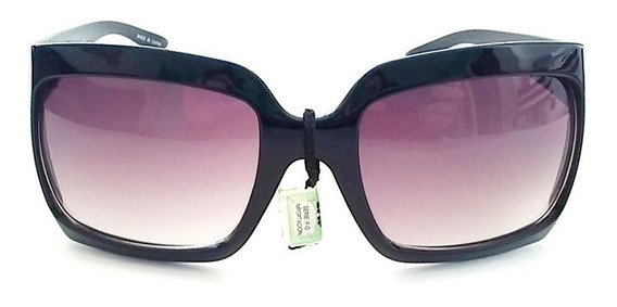 Lentes Gafas Sol Mujer Negro Degrade Uv400 8480
