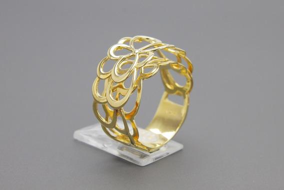 |3550| Anel Em Ouro Amarelo 18k