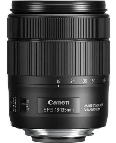 Lente Canon Ef-s 18-135mm F/3.5-5.6 Is Nano Usm Muito Nova.