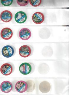 Lote De 26 Tazos Série Pokemon
