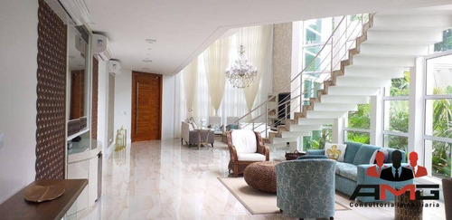 Casa Com 6 Dormitórios À Venda, 550 M² Por R$ 11.000.000,00 - Riviera - Módulo 12 - Bertioga/sp - Ca0712