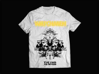Camiseta / Camisa Masculina Watchmen