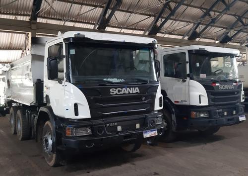 Scania P 310 Ano 2014 Caçamba Rossetti Retarder Traçado