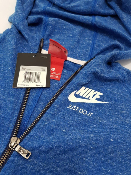 Sudadera Nike Gym Vintage De Niña En Talla Xs Y L ¡oferta!