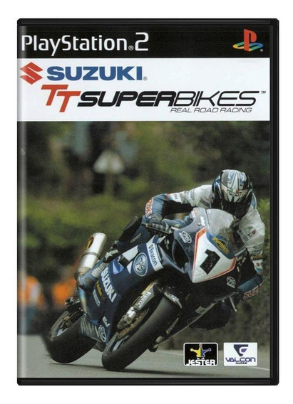 Suzuki Tt Superbikes Real Road Racing Ps2 Mídia Física