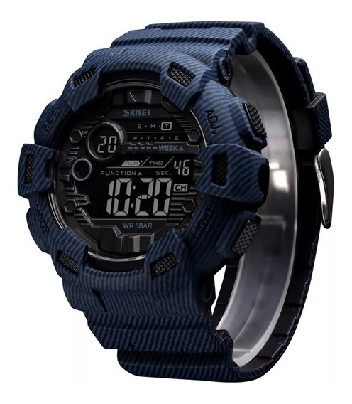 Relógio Militar Esportivo Original Skmei Prova D Água