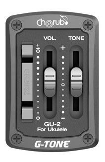 Microfono Cherub Gu2 Para Ukelele Con Ecualizador Activo