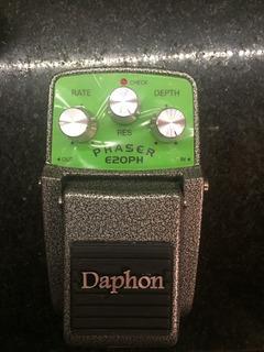 Pedal Efecto Daphon Phaser E20ph Metalico