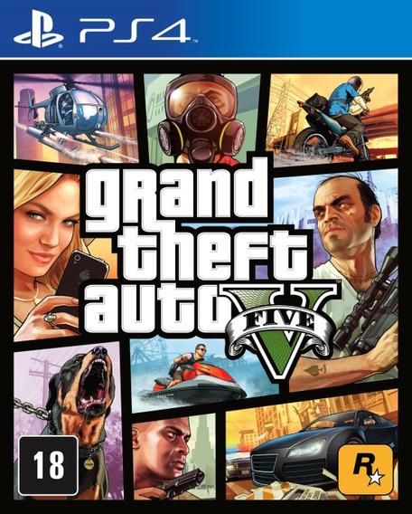 Gta Grand Theft Auto V Ps4