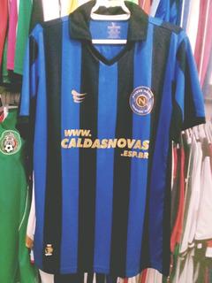 Camisa De Futebol Do Caldas Novas (goias)oficial De Jogo