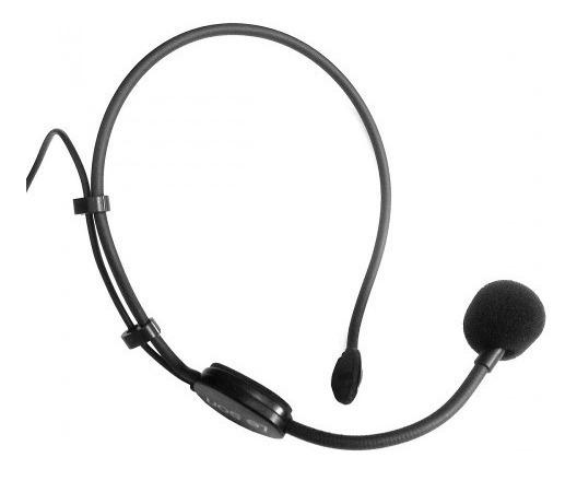 Microfone Cabeça Headset Câmera Dslr Com Fio Le Son Hd-750-r