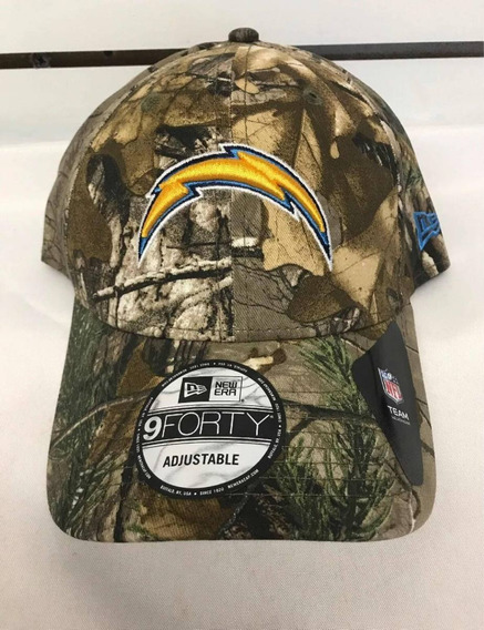 New Era Los Angeles Chargers Camouflage Gorra 9 Forty Nueva
