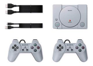 Playstation Consola Clásica Con 20 Juegos Precargados