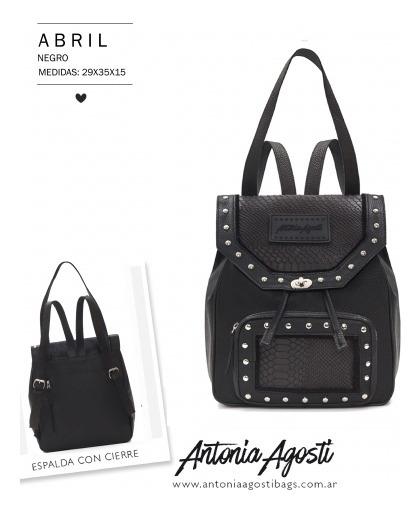 Mochila Abril Antonia Agosti - Son Guapas