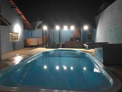 Casa Com Piscina Em Itanhaém - Aceito Permuta