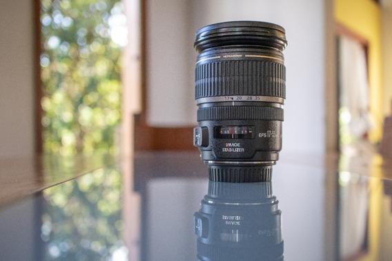 Lente Canon 17-55mm Ef-s 2.8