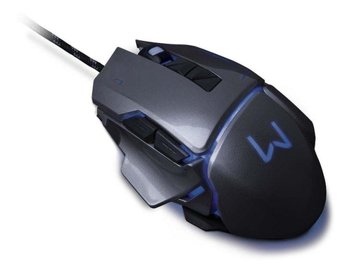 Mouse Gamer 3200 Dpigrafite Usbwarrior Mo262