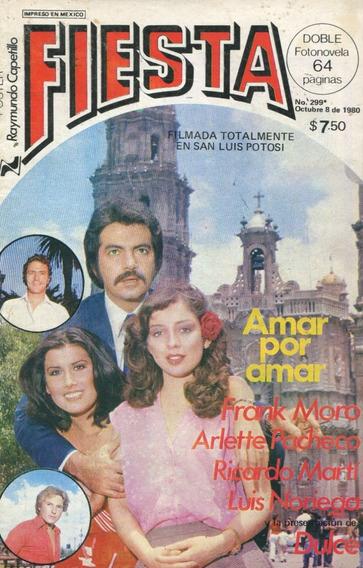 Fotonovela Fiesta. Arlette Pacheco, Dulce, Frank Moro