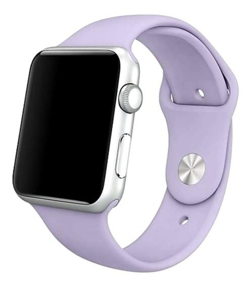 Pulseira Silicone Compatível Relógio Apple Watch 38 / 42mm