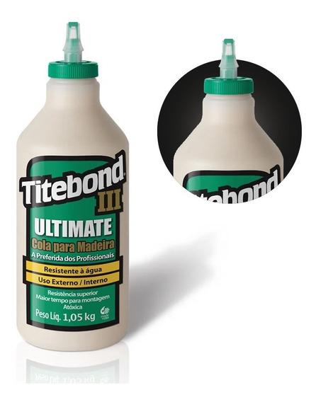 Cola Ultimate Wood Glue Para Madeira 1,05kg 6004529 Titebond