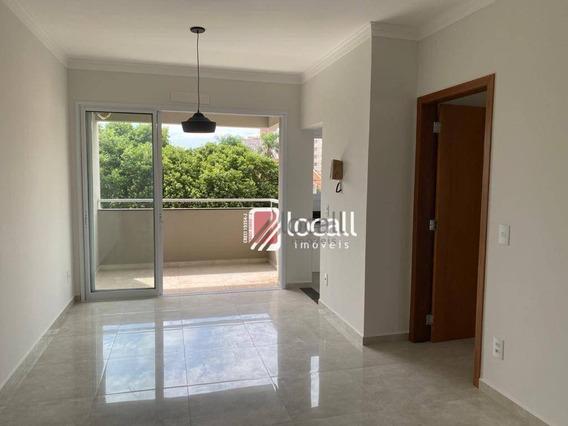 Apartamento Com 1 Dormitório Para Alugar, 55 M² Por R$ 1.200,00/mês - Vila São Pedro - São José Do Rio Preto/sp - Ap2048