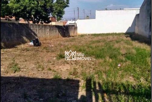 Imagem 1 de 2 de Terreno À Venda, 300 M² Por R$ 200.000,00 - Vila Ianni - Itu/sp - Te1196