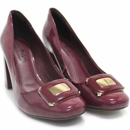 Sapato Ramarim Scarpin Verniz