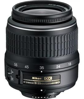 Objetivo Nikon Af-s Nikkor 18-55mm + Envío Gratis