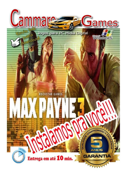 Max Payne 3:complete Edition + Todos Dlc