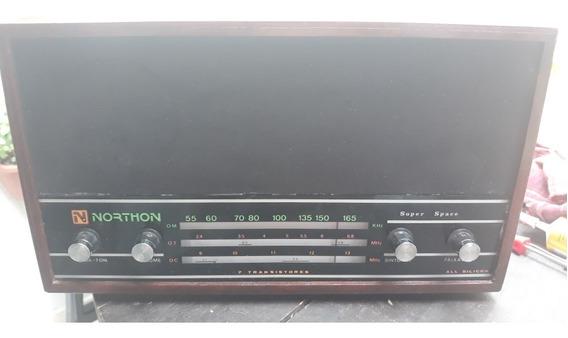 Rádio De Cabeceira Northon 3 Faixas Funcionando Perfeitament