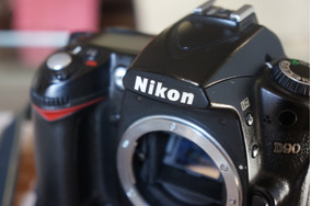 R$999! Nikon D90+grip, Só 5 Mil Clicks - Quero D7000 D7100