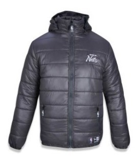 Jaqueta New Era Original Bomber Brooklyn Nbi17jaq012 Nba