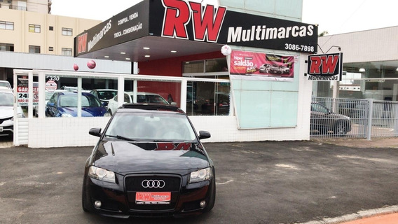 Audi A3 Sportback 2.0 Turbo C/ Kit Do S3 Completo + Couro