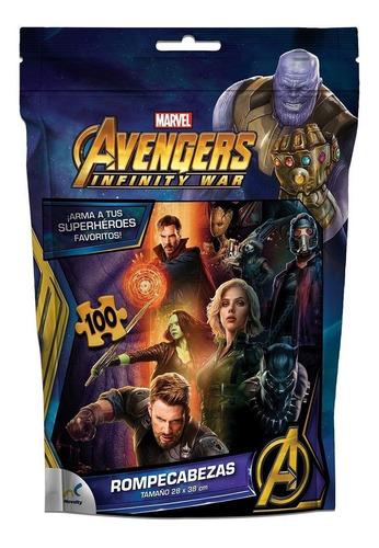 Rompecabezas Bolsa Foil Avengers Infinity War