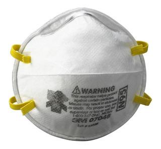 Barbijo Respirador 3m 8210 N95 Contra Particulas Por Unidad