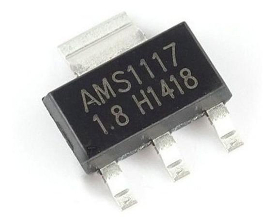10 Pçs Ci Regulador Tensão Ams1117 3v3 3.3v