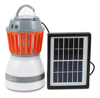 Lampara Repelente Mata Mosquitos Con Panel Solar - T1921