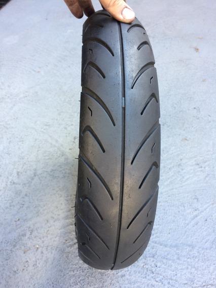 Pneu 90/90/12 Cheng Shin Tyre Usado Bom Dianteiro Ou Traseir