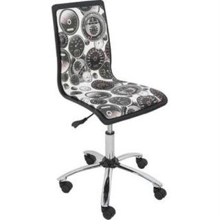 Cadeira Design Jovial C/regulagem E Relax Estampada