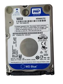 Hd Western Digital Blue Wd5000lpcx 500gb 2.5 Sata 6 Gb