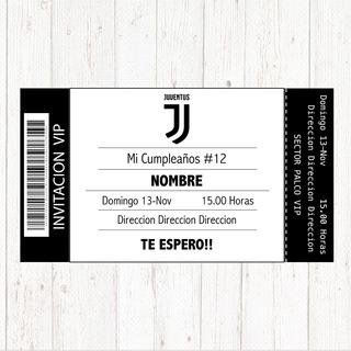 Tarjetas De Cumpleaños Juventus En Mercado Libre Argentina