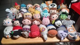 Zum Zum Disney Lote De 37 Peluches Varios Personajes