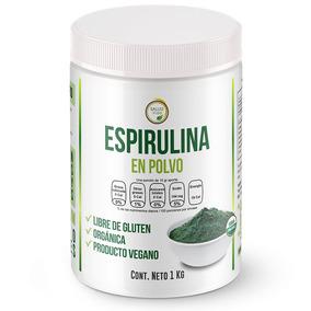 Alga Espirulina 1 Kg. Orgánica Premium Envío Gratis